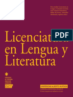 Folleto Licenciatura Lengua Literatura 2012 PRINT