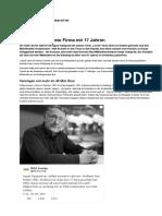 Ikea-Gründer Ingvar Kamprad Tot - 2018-01-28