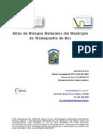 Atlas Riesgos Tlalnepantla 2014