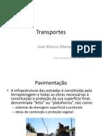 TRANSPORTES - Pavimentação
