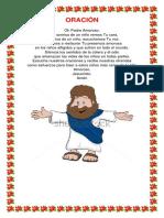 10 oraciones infantiles
