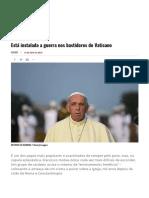 Visão _ Está Instalada a Guerra Nos Bastidores Do Vaticano