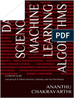 Data Science & Machine Learning Algorithms_ a CONCISEtasets, And Free Text Books) - Ananthu S Chakravarthi