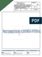 Pr-cal-06, Procedimiento de Auditorias Internas