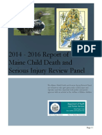 Child Death Review Panel report