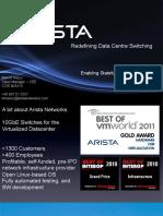 Arista VXLAN Technical Overview