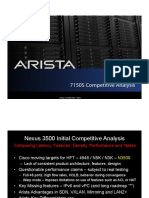 Cisco Nexus 3548 vs Arista 7150S