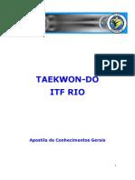 Apostila Taekwon-do - Geral