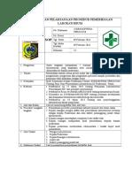8.1.2.d SPO Pemantauan Pelaksanaan Prosedur Pemeriksaan Lab