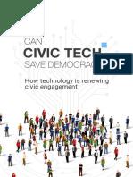 Can Civic Tech Save Democracy?