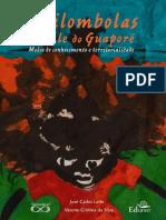 LEITE;SILVAe Book QuilombolasValeGuapore