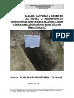 Informe Geotecnico y Geologico