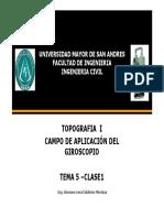 8GESTION 2016 TEMA 5 Clase1 El Giroscopio .