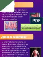 Epidermolisis bullosa presentacion