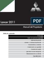Manual Mitsubishi Lancer (2011)