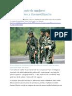 El Sufrimiento de Mujeres Combatientes y Desmovilizadas VERDADABIERTA.com