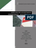 97144599 Analisis de Los Ratios Financieros Consolidado
