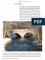 Arch Bridges - Facts and Types of Arch Bridges