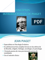 Conceptos Introductorios de Piaget
