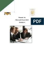 Manual de Excel 2013 Modulo 4