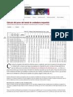 Cálculo Del Peso Del Metal de Soldadura Requerido _ RESPUESTAS de SOLDADURA