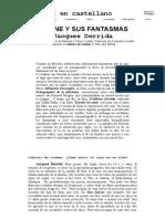 Derrida en Castellano - El Cine y Sus Fantasmas