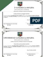 Universidad Agraria La Molina