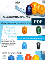 Tangki Air Tinggi, Hub 0882 2610 9060 (Call - WA)
