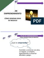 Taller de Emprendimiento Ideas de Negocio
