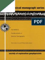 Fundamental of Seismic Tomography