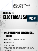 Electrical Safety (OSHS)