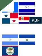 Banderas de Centro America