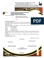Proposal Fesbend BARU to Wira