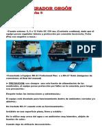 Manual Rk-31 Generador Orgon -2015 Word