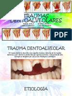 Traumas Dentoalveolares