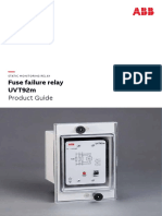 Fuse Failure Relay