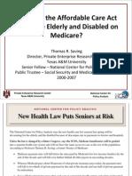 NCPA Social Security Trustees Briefing 2010