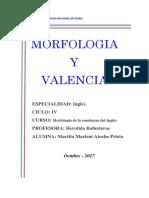 Valencia Morfologia