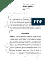 Recurso de Nulidad 4216-2009-LIMA