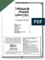 Crônicas de Avalon - Primeiros Passos - Biblioteca Élfica