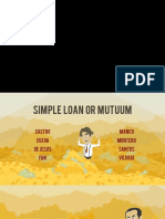 Simple Loan or Mutuum