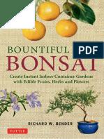 Bountiful Bonsai - Create Instant Indoor Container Gardens