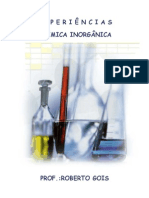 Química RG - CadExp Química Inorgânica