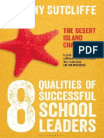 The 8 Qualities of Successful School Leaders the Desert Island Challenge Sample Pages
