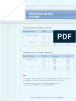Delma Ferries Schedule - Oct 2012
