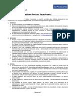 Reglamento Centros Vacacionales 2018 - CCAF La Araucana