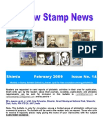 Rainbow Stamp News February 2009 Issue # 14
