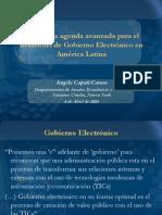 Agenda Gob Electronico America Latina