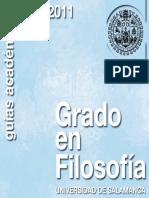 Grado Filosofia 2010-2011