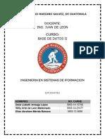 Lecturas Base de Datos 2